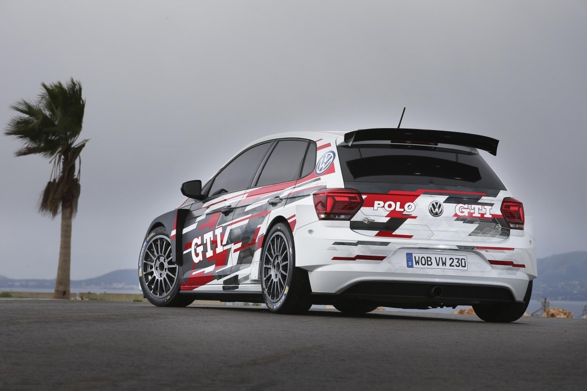 Volkswagen reveals 268bhp Polo GTI R5 rally vehicle