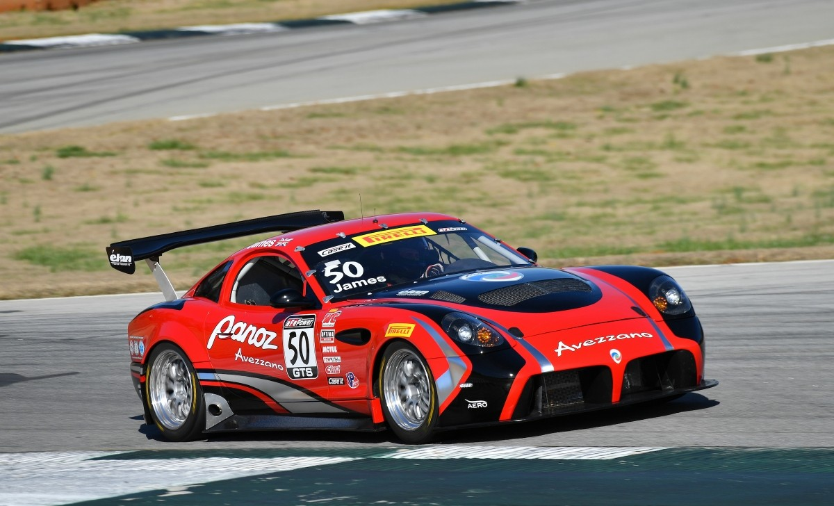 Panoz Avezzano GTS race car completes first test - Race Tech Magazine