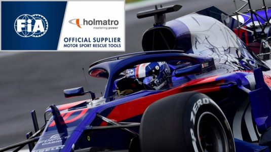 FIA appoints Holmatro as Official Supplier of rescue equipment