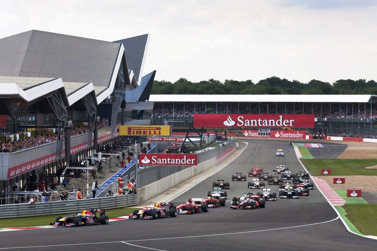F1 Silverstone Zeitplan